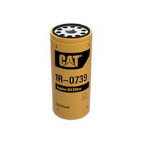 Фильтр масляный 1R0739 погрузчика Caterpillar.