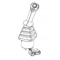 Электроджойстик (джойстик) 332/X6237 погрузчика JCB.