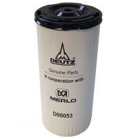 Фильтр масляный D00053 погрузчика Merlo.