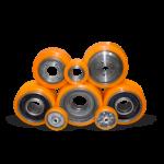 Полиуретановые колеса и ролики
