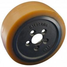 Колесо ведущее полиуретановое 0039933800 электророклы Linde.