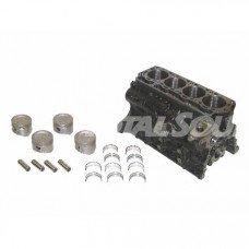 Блок цилиндров 11401-76021-71 двигателя Toyota 4Y.