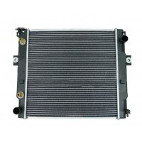 Радиатор охлаждения 91E01000101 погрузчика Mitsubishi.